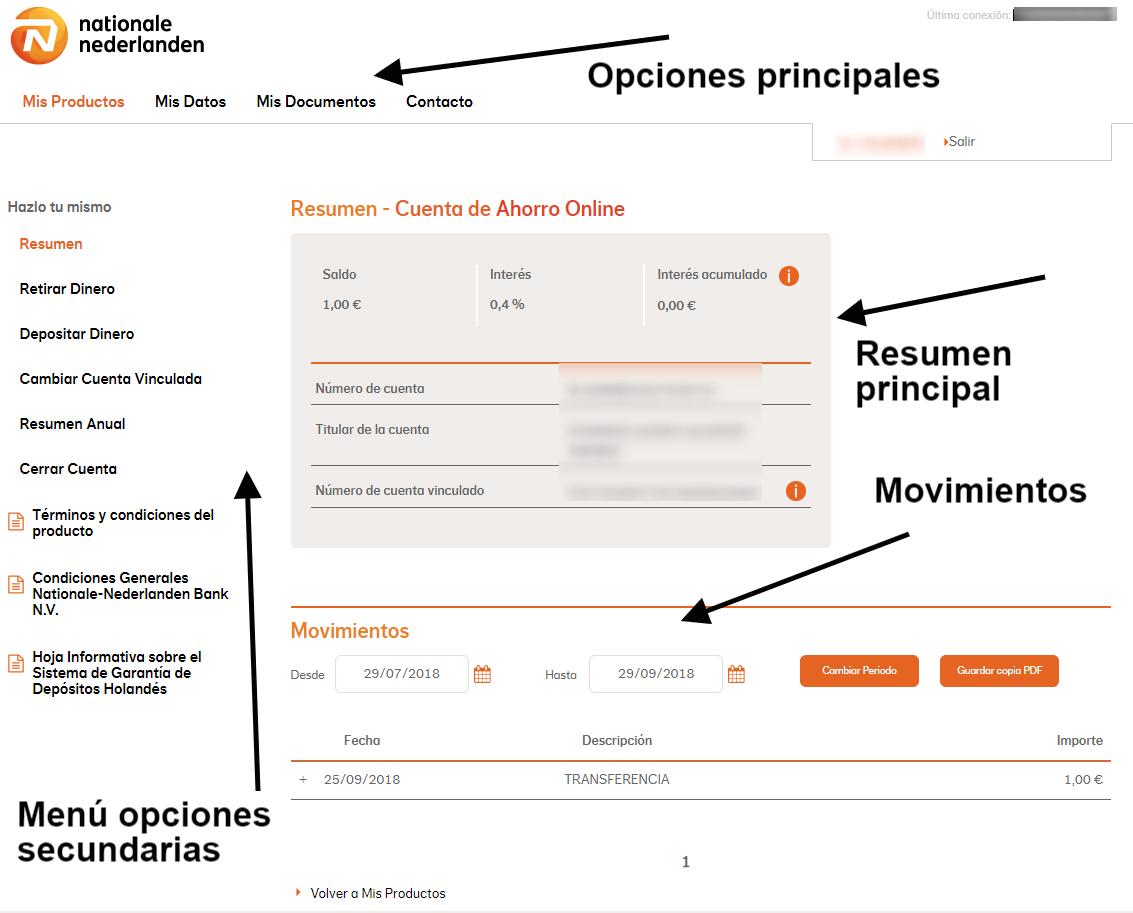cuenta ahorro nn bank analisis opionines